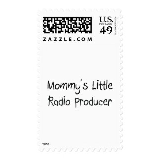 Mommys Little Radio Producer Postage Stamp