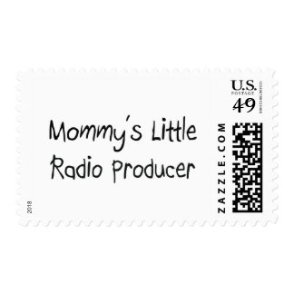 Mommys Little Radio Producer Stamp