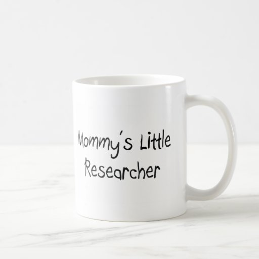 Mommys Little Researcher Coffee Mugs