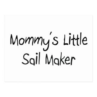 Mommys Little Sail Maker Postcard