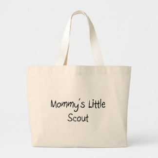 Mommys Little Scout Large Tote Bag