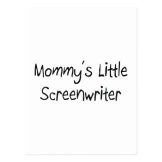 Mommys Little Screenwriter Postcard