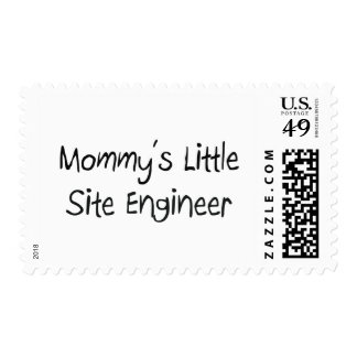 Mommys Little Site Engineer Postage Stamps