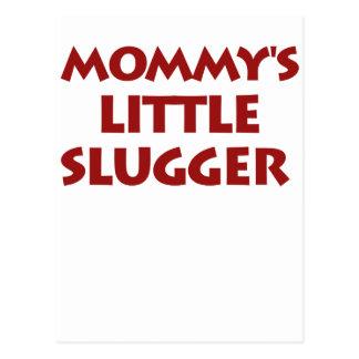 Mommy's Little Slugger Postcard