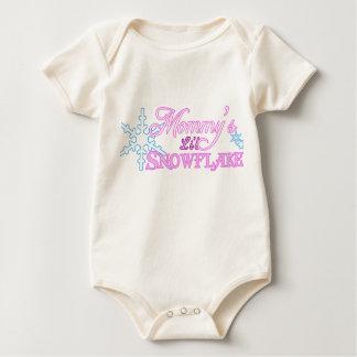 Mommy's Little Snowflake Baby Bodysuit