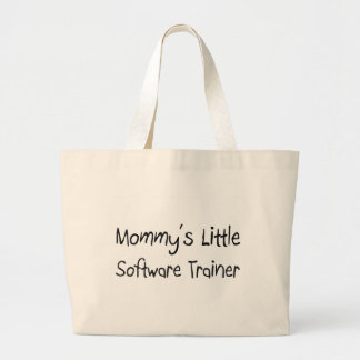 Mommys Little Software Trainer Canvas Bags