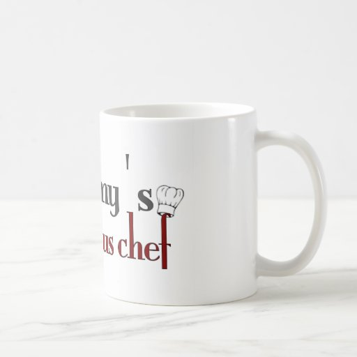 Mommy's little sous chef coffee mug