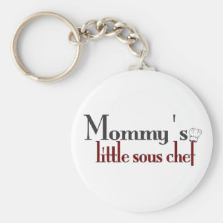 Mommy's little sous chef keychain