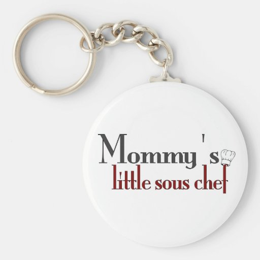 Mommy's little sous chef key chain
