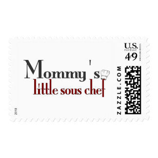 Mommy's little sous chef stamps