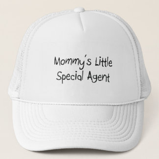 Mommys Little Special Agent Trucker Hat