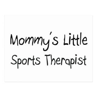 Mommys Little Sports Therapist Postcard