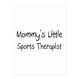 Mommys Little Sports Therapist Postcards