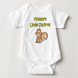 MOMMY'S LITTLE SQUIRREL BABY BODYSUIT