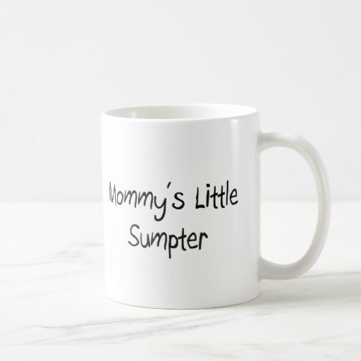 Mommys Little Sumpter Coffee Mug