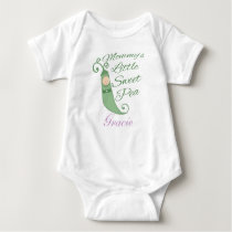 Mommy's Little Sweet Pea Baby T-Shirt or Creeper