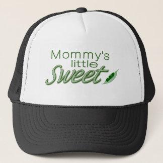 Mommy's little sweet pea trucker hat
