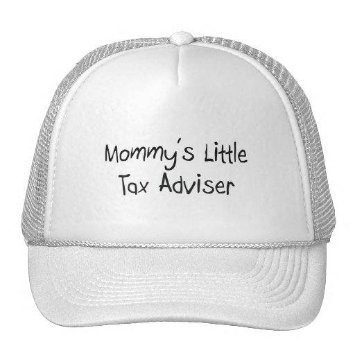 Mommys Little Tax Adviser Trucker Hat