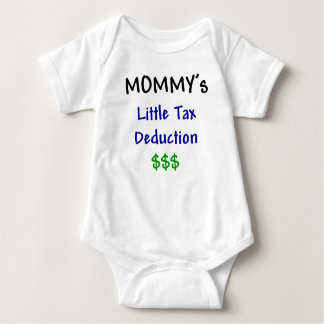 Mommys Little Tax Deduction $$$ Infant Creeper