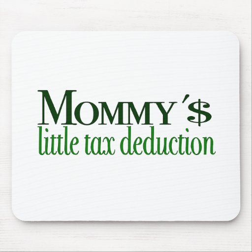 Mommy's little tax deduction mouse mats