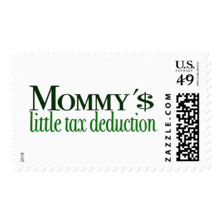 Mommy's little tax deduction stamp