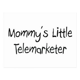 Mommys Little Telemarketer Postcard