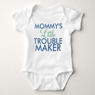 Mommy's Little Trouble Maker Blue Tees