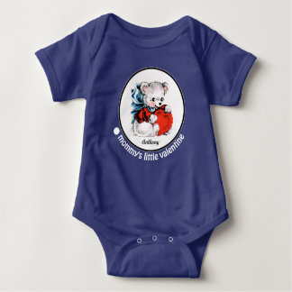Mommy's Little Valentine. Baby Gift Bodysuit