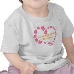 Mommy's Little Valentine flower heart shirt T-shirt
