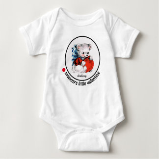 Mommy's Little Valentine. Gift Baby Bodysuit