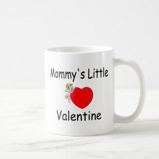 Mommy's Little Valentine Classic White Coffee Mug