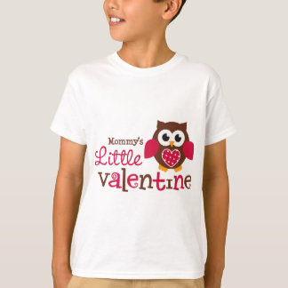 Mommy's Little Valentine Owl T-Shirt