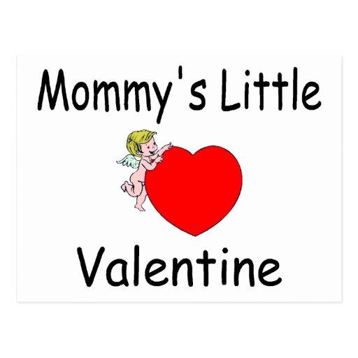 Mommy's Little Valentine Postcard