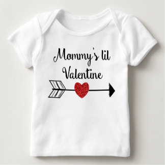 Mommy's Little Valentine Shirt