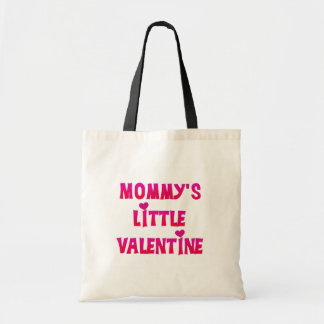 Mommy's Little Valentine Tshirts and Gifts Tote Bag