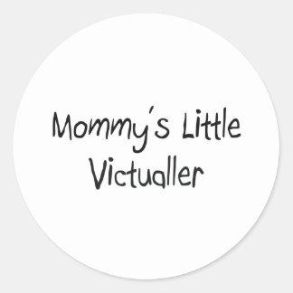 Mommys Little Victualler Round Sticker