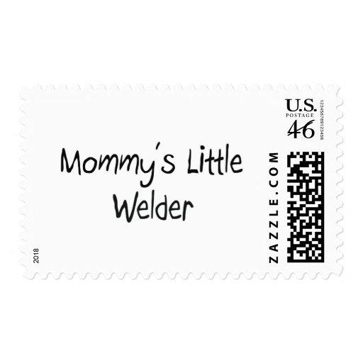 Mommys Little Welder Postage