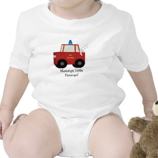 Mommys LittleFireman! Tshirt shirt