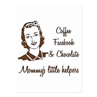 Mommy's Little's Helpers... Postcard