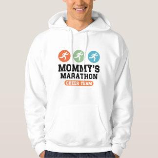 Mommy's Marathon Cheer Team Hoodie