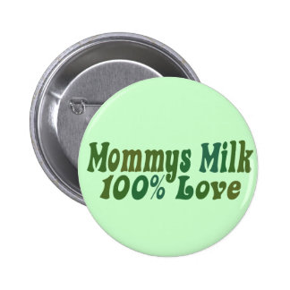 Mommys Milk is LOVE Button