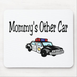 Mommy's Other Car Mouse Pad