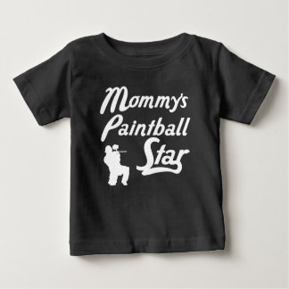 Mommy's Paintball Star Baby T-Shirt