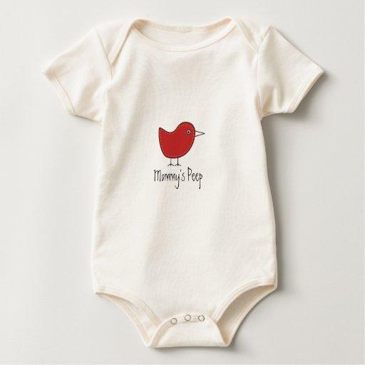 Mommy's Peep Baby Bodysuit