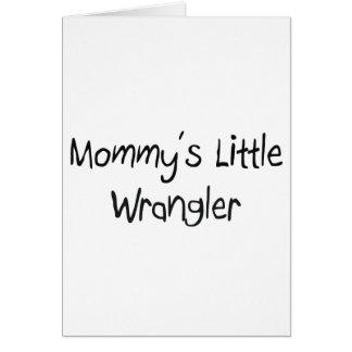 Mommys pequeño Wrangler Tarjeta De Felicitación