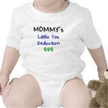 Mommys poca deducción fiscal traje de bebé