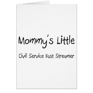 Mommys poca función pública ayuna flámula felicitacion
