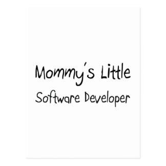 Mommys poco analista de programas informáticos tarjeta postal