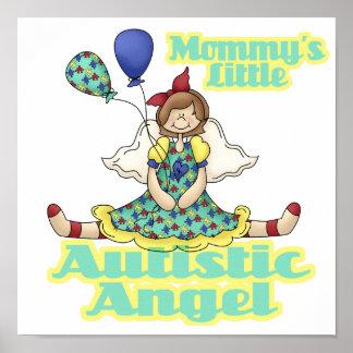 Mommys poco ángel autístico posters
