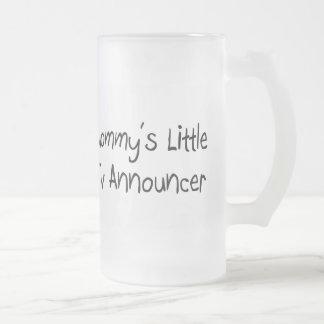 Mommys poco anunciador de TV Tazas De Café